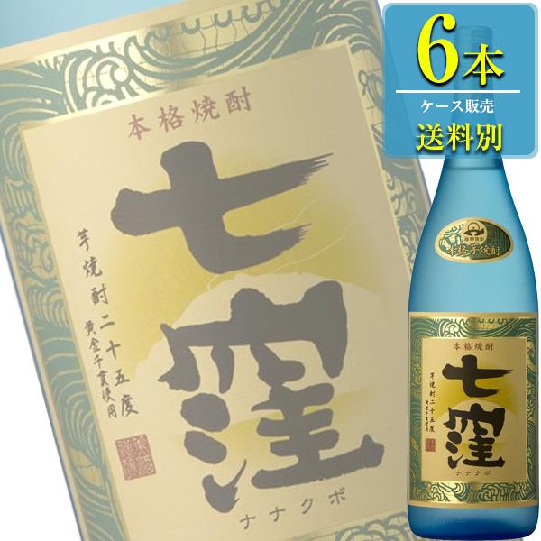 東酒造 七窪 (ななくぼ) 本格芋焼酎 25% 1.8L瓶 x 6本ケース販売 (鹿児島)