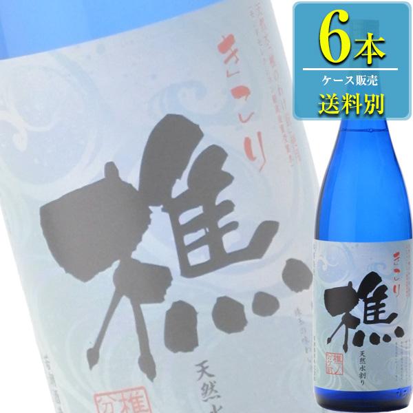 若潮酒造 樵 (きこり) 本格芋焼酎 25% 1.8L瓶 x 6本ケース販売 (鹿児島)