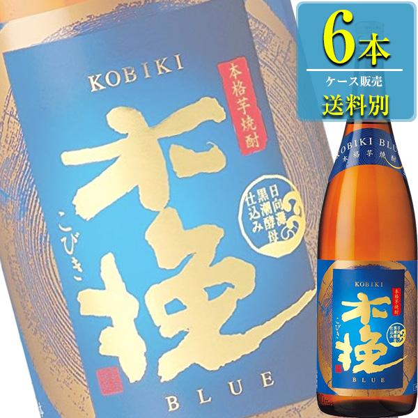 雲海酒造 木挽BLUE 本格芋焼酎 25% 1.8L瓶 x 6本ケース販売 (宮崎県)