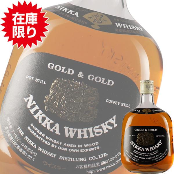 (終売品) (在庫限り) アサヒ ニッカ G & G 白 750ml瓶 (国産ウイスキー) (ブレンデッド)