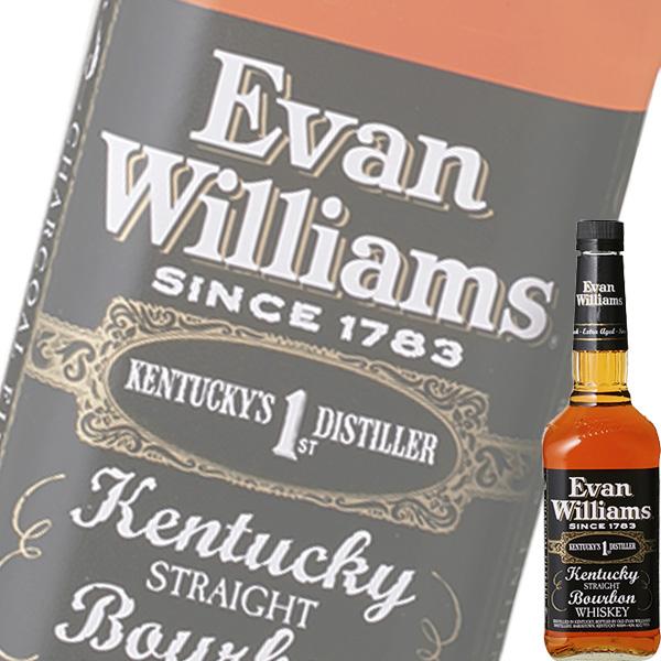 エヴァン ウィリアムス ブラックラベル 750ml瓶 (バカルディ) (アメリカンウイスキー) (バーボン)