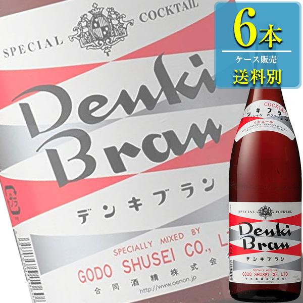 合同酒精 電気ブラン 30% 1.8L瓶 x 6本ケース販売 (ハーブ系リキュール)