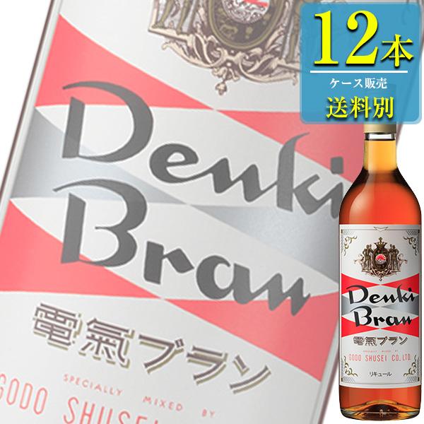 合同酒精 電気ブラン 30% 720ml瓶 x 12本ケース販売 (ハーブ系リキュール)