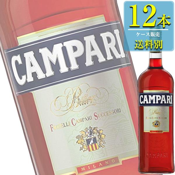 「カンパリ」1000ml瓶x12本ケース販売 (アサヒ) (ハーブ系リキュール)
