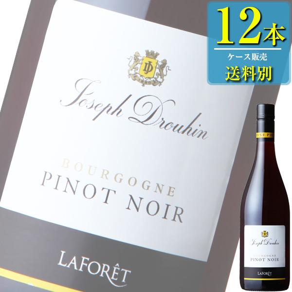 メゾン ジョゼフ ドルーアン ブルゴーニュ ピノ ノワール (赤) 750ml瓶 x 12本ケース販売 (フランス) (赤ワイン) (ミディアム) (MI)
