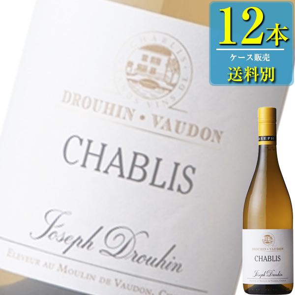 ドメーヌ ドルーアン ヴォードン「シャブリ(白)」750ml瓶x12本ケース販売【フランス】【白ワイン】【辛口】【MI】