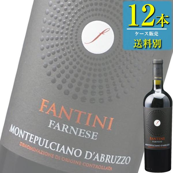 ファルネーゼ ファンティーニ モンテプルチャーノ ダブルッツォ (赤) 750ml瓶 x12本ケース販売 (イタリア) (赤ワイン) (ミディアム) (IN)
