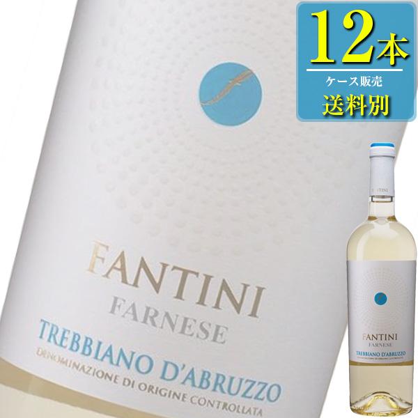 ファルネーゼ ファンティーニ トレッビアーノ ダブルッツォ (白) 750ml瓶 x 12本ケース販売 (イタリア) (白ワイン) (辛口) (IN)