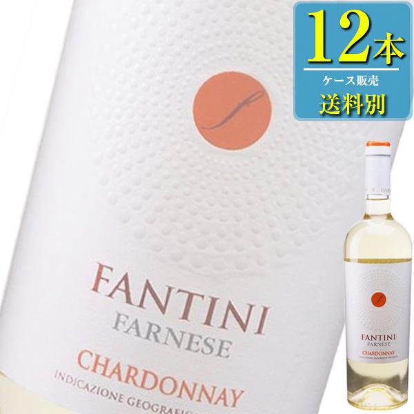 ファルネーゼ ファンティーニ シャルドネ (白) 750ml瓶 x12本ケース販売 (イタリア) (白ワイン) (辛口) (IN)