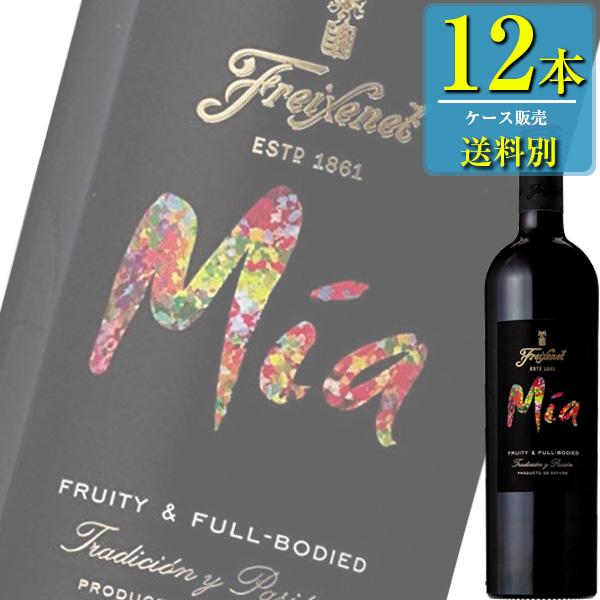 サントリー 「フレシネ ミーア 赤」750ml瓶x12本ケース販売 (スペイン) (赤ワイン) (ミディアム) (SU)