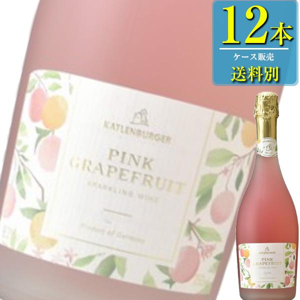 ドクター ディムース「ピンクグレープフルーツ」スパークリングワイン 750ml瓶x12本ケース販売【ドイツ】【フルーツワイン】【KS】