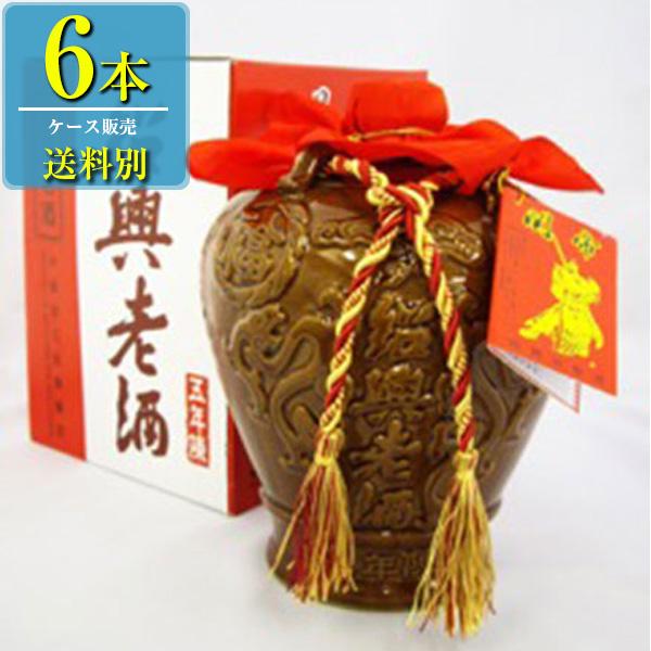 日和商事 関帝 紹興加飯酒 1625ml瓶 x6本ケース販売 (紹興酒) (中国酒)