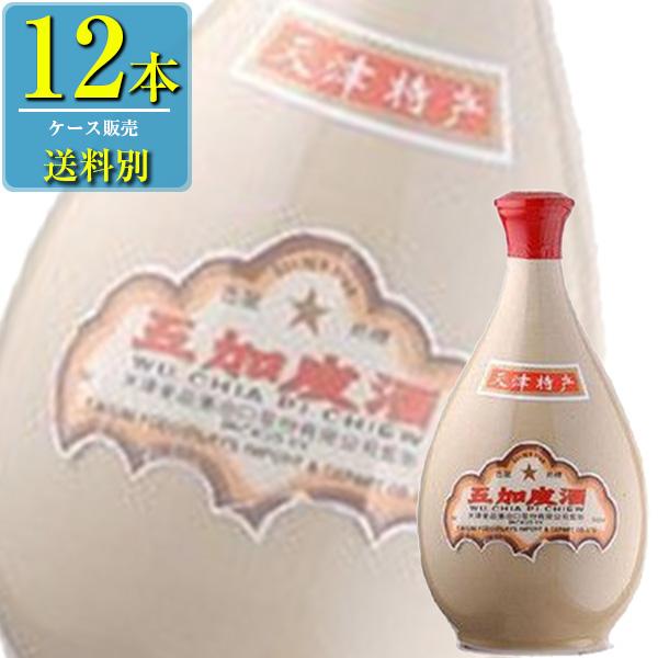 日和商事 天津 五加皮酒 500ml瓶 x12本ケース販売 (中国酒)