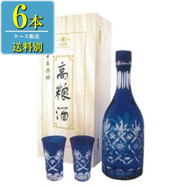 日和商事 20年陳醸 高粮酒 700ml瓶 x6本ケース販売 (白酒) (中国酒)
