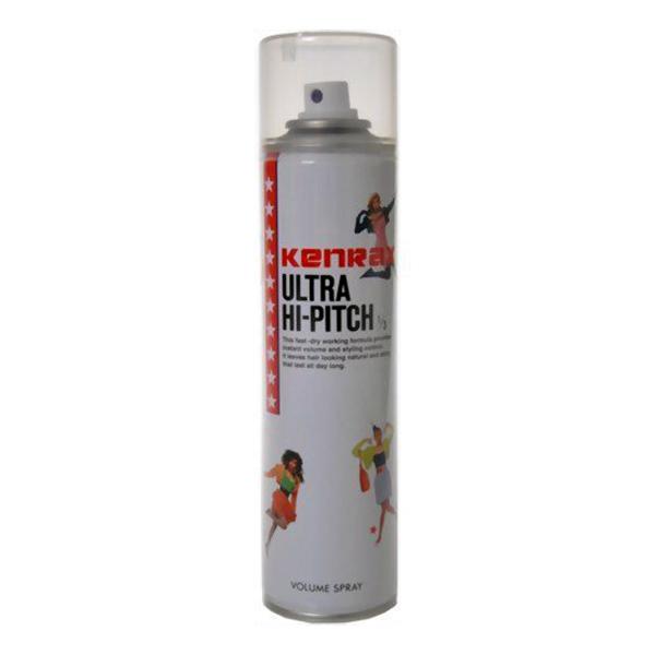 瞬間乾燥 超ハードスタイリングスプレー 人気商品 ケンラックス ウルトラハイピッチ 280ml 微香タイプ 新生活