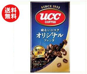 【送料無料】UCC 味わいのコク オリジナルブレンド(粉) 200g袋×24袋入 ※北海道・沖縄・離島は別途送料が必要。