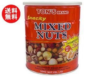 【送料無料】【2ケースセット】東洋ナッツ食品 トン スナッキー ミックスナッツ 650g缶×6個入×(2ケース) ※北海道・沖縄・離島は別途送料が必要。