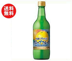 【送料無料】【2ケースセット】ポッカサッポロ お酒にプラス グレープフルーツ 540ml瓶×12(6×2)本入×(2ケース) ※北海道・沖縄・離島は別途送料が必要。
