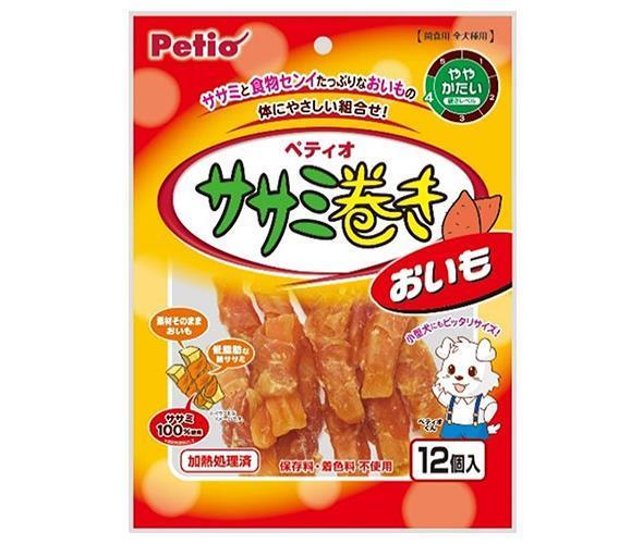 送料無料 ササミ巻き ペティオ 12個×30袋入 おいも 北海道・沖縄・離島は別途送料が必要。