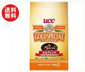【送料無料】UCC ゴールドスペシャル モカブレンド(粉) 400g袋×12(6×2)袋入 ※北海道・沖縄・離島は別途送料が必要。
