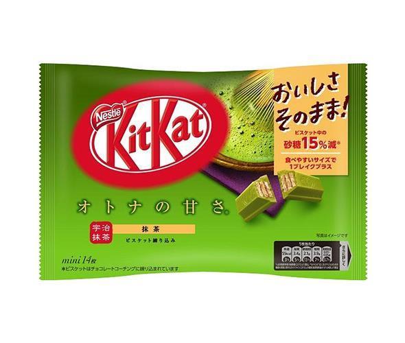 送料無料 ネスレ日本 キットカット ミニ オトナの甘さ 抹茶 13枚×12袋入 ※北海道・沖縄・離島は別途送料が必要。