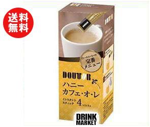 【送料無料】ドトールコーヒー ドトール インスタント ハニーカフェ・オ・レ 11g×4P×36個入 ※北海道・沖縄・離島は別途送料が必要。
