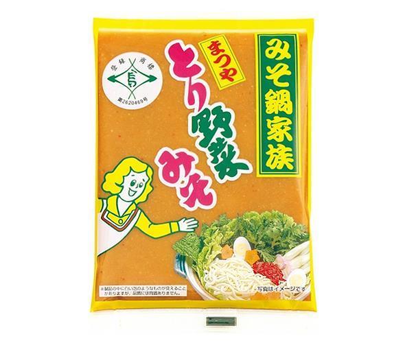 【送料無料】【2ケースセット】まつや とり野菜みそ 200g×12袋入×(2ケース) ※北海道・沖縄・離島は別途送料が必要。