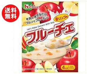 【送料無料】【2ケースセット】ハウス食品 フルーチェ 蜜リンゴ味 200g×30個入×(2ケース) ※北海道・沖縄・離島は別途送料が必要。