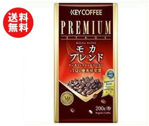 【送料無料】【2ケースセット】KEY COFFEE(キーコーヒー) VP(真空パック) モカブレンド(粉) 200g×6袋入×(2ケース) ※北海道・沖縄・離島は別途送料が必要。