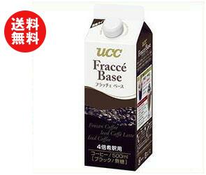 送料無料 【2ケースセット】UCC フラッチェベース 無糖 500ml紙パック×12本入×(2ケース) ※北海道・沖縄・離島は別途送料が必要。