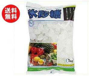 【送料無料】【2ケースセット】中日本氷糖 馬印 氷砂糖クリスタル 1kg×10袋入×(2ケース) ※北海道・沖縄・離島は別途送料が必要。
