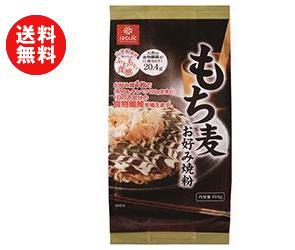 送料無料 はくばく もち麦お好み焼き粉 400g×12袋入 ※北海道・沖縄・離島は別途送料が必要。