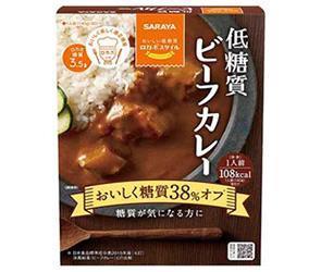 送料無料 【2ケースセット】サラヤ ロカボスタイル 低糖質ビーフカレー 140g×24(6×4)箱入×(2ケース) ※北海道・沖縄・離島は別途送料が必要。