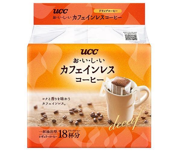 【送料無料】UCC おいしいカフェインレスコーヒー ドリップコーヒー 18P×12袋入 ※北海道・沖縄・離島は別途送料が必要。