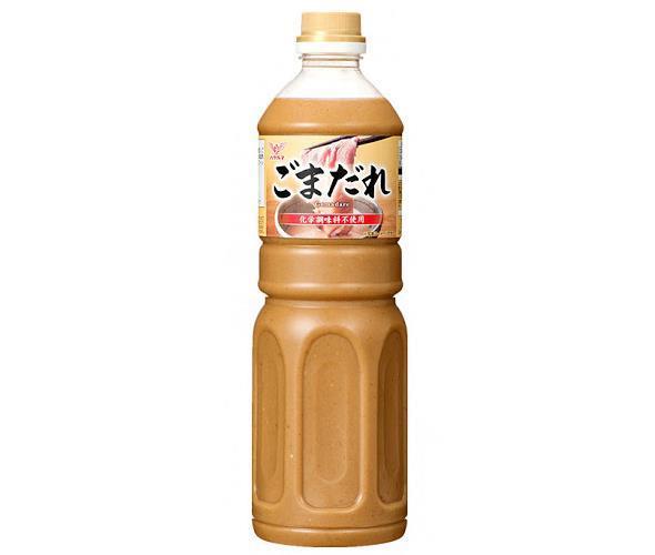 送料無料 【2ケースセット】ハグルマ ごまだれ 1100gペットボトル×12本入×(2ケース) 北海道・沖縄・離島は別途送料が必要。