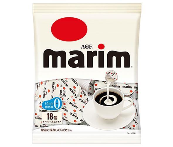 送料無料 AGF マリーム ポーション 4.5ml×18個 20袋 日本産 ミルク 全店販売中 フレッシュ 離島は別途送料が必要 沖縄 珈琲 marim 北海道 ×20袋入 コーヒー 嗜好品