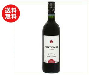 送料無料 湘南貿易 ヴィンテンス メルロー 750ml瓶×12本入 ※北海道・沖縄・離島は別途送料が必要。
