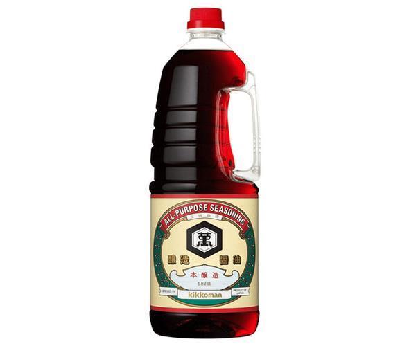 送料無料 一部予約 キッコーマン こいくちしょうゆ 1.8Lペットボトル 12本 調味料 濃口 醤油 業務用 1.8Lペットボトル×6本入× 沖縄 ハンディペット 離島は別途送料が必要 ※北海道 輸入 2ケースセット 2ケース