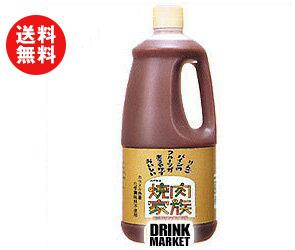 【送料無料】【2ケースセット】ハグルマ焼肉家族1750gペットボトル×6本入×(2ケース) ※北海道・沖縄・離島は別途送料が必要。