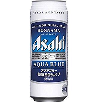 【送料無料!!】アサヒ 本生アクアブルー 500ml 1ケース24本×2ケース