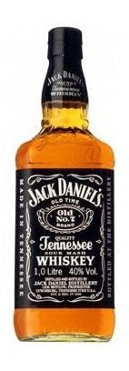 【送料無料】アサヒビール ジャックダニエル ブラック 40度 1L瓶 1ケース12本