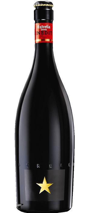 【送料無料】【スペインビール】 INEDIT ESTRELLA DAMM(イネディット エストレージャ ダム)750ml瓶 1ケース(12本入)