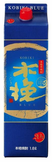 【送料無料】雲海酒造 日向木挽(こびき)ブルー 芋焼酎 25度 1.8Lパック 2ケース(12本)
