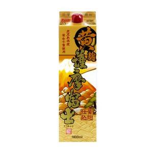 【送料無料】濱田酒造 黄 薩摩富士 黄麹仕込み 芋焼酎 25度 1.8L(1800ml)パック 2ケース(12本)