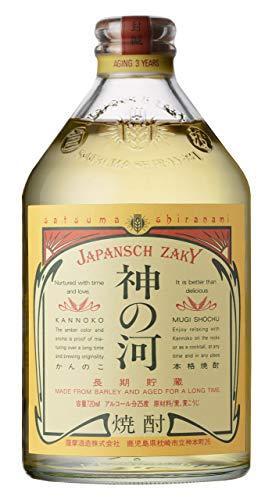 【送料無料】薩摩酒造 神の河 25° 本格麦焼酎 720ml瓶 2ケース(12本)