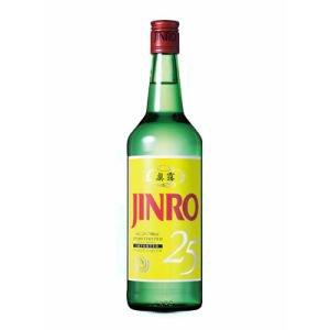 【送料無料】真露 眞露(ジンロ) JINRO 25度 700ml瓶 1ケース(12本入)
