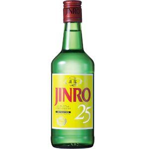 【送料無料】真露 眞露(ジンロ) JINRO 25度 375ml 1ケース(24本入)