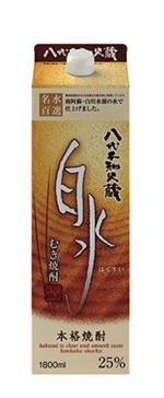 【送料無料】キリンビール 八代不知火蔵 むぎ焼酎 白水 25度 1.8L 2ケース(12本)