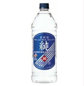 【送料無料】宝酒造 宝焼酎 純 20度 1920mlエコペット 1ケース(6本入)