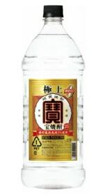【送料無料】宝酒造(タカラ) 甲類焼酎 極上 宝 焼酎 25度 2.7L(2700ml) 1ケース6本